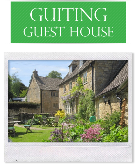 The Outside of the Guiting Guest House Located In The Cotwolds